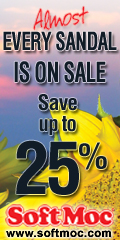 Save Up To 25% On Almost All Sandals