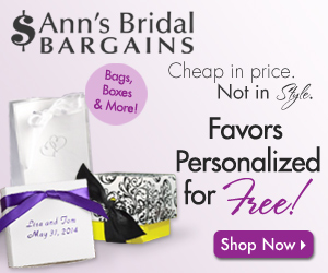 Cheap Wedding Favors In Many Designs & Colors!