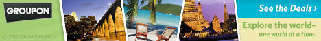 Escape and Travel with Groupon deals