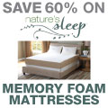 Save 60% on Nature's Sleep