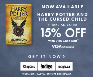 Harry Potter and the Cursed Child now available + Save an Extra 15% Off with Visa Checkout