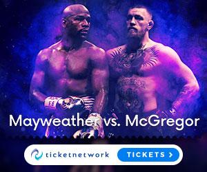Mayweather vs. McGregor Tickets
