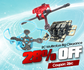 Image for 28% OFF Coupon for RC Multirotors