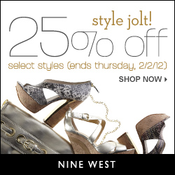 thru 1/16 - 25% Off Favorite Flats