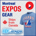 Relive the Glory! Shop Montreal Expos Gear and save $10 OFF your order of $100 or more at IceJerseys.com! Discount applied at checkout!