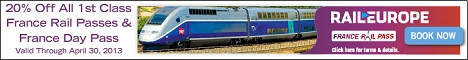 France Railpass from Raileurope