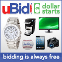 Auctions Starting at $1 at uBid.com!