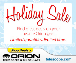 Check your List Twice! Orion Holiday Sale!