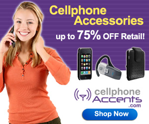 Up to 75% off at CellphoneAccents.com! Shop Now!
