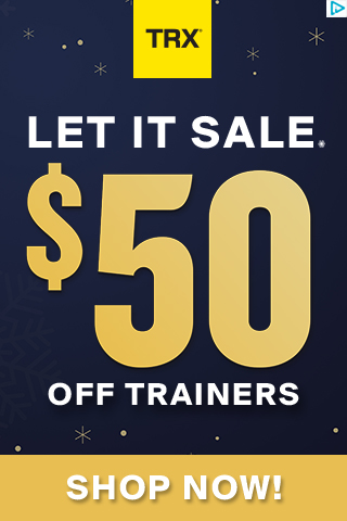 TRX - LET IT SALE! - $50 OFF ALL TRAINERS & 30% OFF OUR BEST GEAR & GIFTS - GIFT FITNESS, HEALTH & H