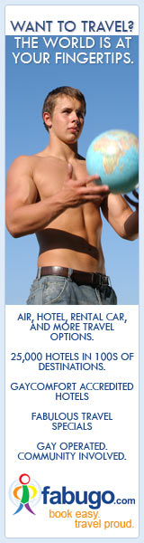 Book your gay vacation on Fabugo.com!