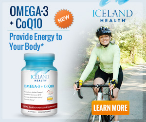New! Iceland Health Omega-3 + CoQ10