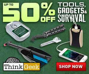Save up to 50% Off Tools, Gadgets, Survival