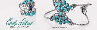 Sleeping Beauty Turquoise by jewelry designer Carolyn Pollack