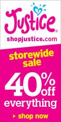 Shop Justice! 40% OFF Site Wide, w code 779!!