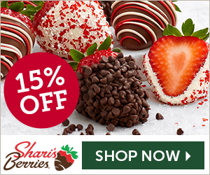 15% off Holiday Strawberries & Sweet Treats (min $29) - 300 x 250
