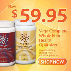 Save $10 off Vega Whole Food Health Optimizer