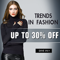 Trends In Fashion:Get up to 30% off Designer Collection