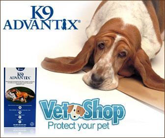 Get K9 Advantix at VetShop.com