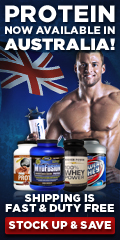 Protein Now Available in Australia!