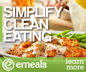 eMeals Clean Eating Plan 15% off code from Palmettos and Pigtails