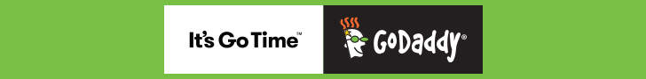 Power up your website!  Get a $5.99 .COM from GoDaddy!