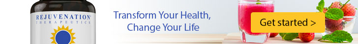 Rejuvenation Therapeutics - 100% Natural Supplements