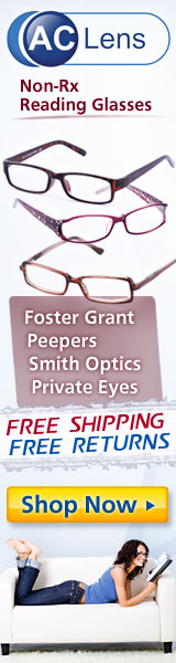 Get Your Next Reading Glasses at AC Lens!