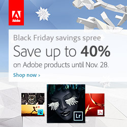 Adobe Cyber Monday Deals Live Now