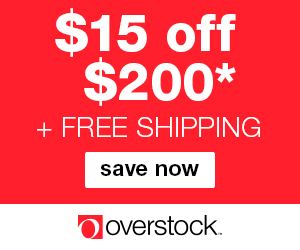 Overstock promotion