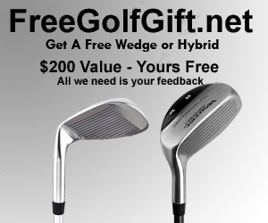 Get Your Free Golf Wedge or Hybrid