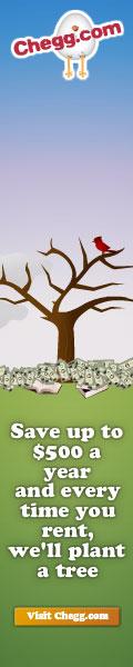 Chegg Plant a Tree