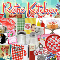 Retro Kitchen Tableware
