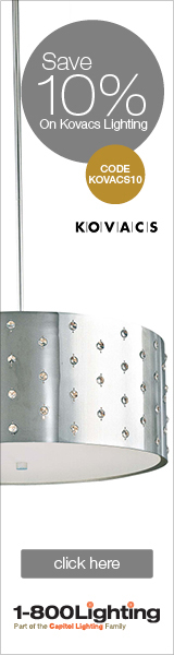 Take 10% Off Kovacs Items with code KOVACS10 + Free Shipping over $49 at 1800lighting.com!