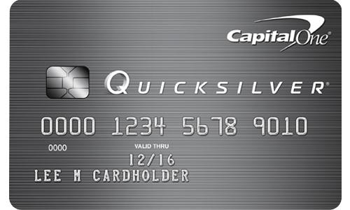 Capital One® Quicksilver®