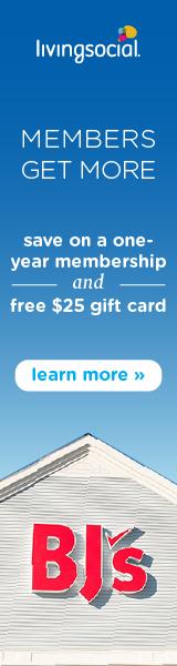 GREAT DEAL – BJ's membership!