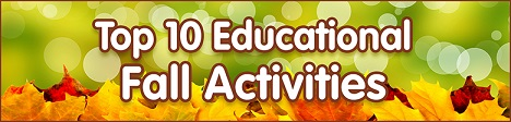 Check Out These Top 10 Fall Educational Ideas From Discount School Supply! Click Here! Great Fot Blo