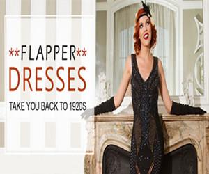 Get UP TO 60% OFF Flapper Dresses.