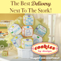 At Cookies by Design we create freshly baked hand delivered cookie bouquets and gourmet cookies across the US.