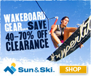 Get FREE SHIPPING on Orders $75 or More from Sun & Ski!* All other orders ship for just $4.95!* *Res