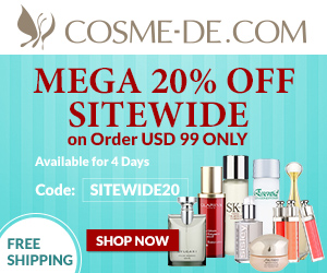 MEGA 20% OFF Sitewide Discount