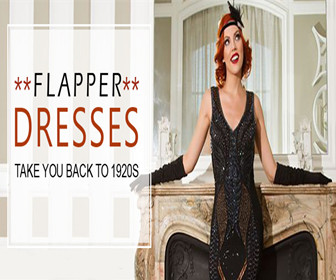 Get UP TO 60% OFF Flapper Dresses.