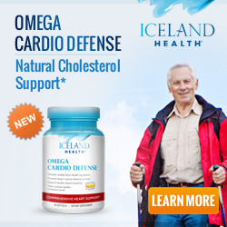 New! Iceland Health Omega Cardio Defense