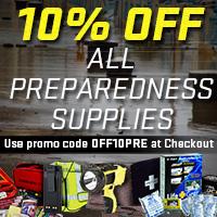 Be Prepared - 10% Off