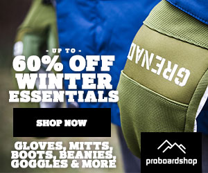 Dreaming Of Winter?  Save Up To 70% Off Past Seasons Gear!