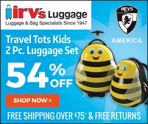 Hey's America Travel Totes for Kids