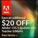 $20 off all Student and Teacher Edition products