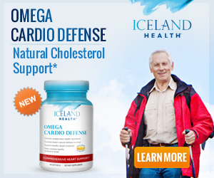 New! Iceland Health Omega Cardio Defense