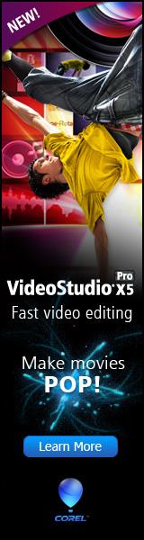 Corel VideoStudio Pro X2 Video Editing Software