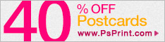 25% Discount on Postcards w/ PSPrint